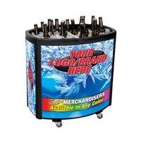 Black Avalanche II 4030 Mobile 90 qt. Cooler Merchandiser