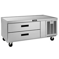 Delfield F2952CP 52 inch Two Drawer Refrigerated Chef Base