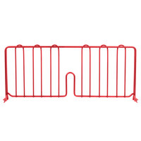 Metro DD21-DF 21 inch Flame Red Wire Shelf Divider