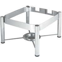 Vollrath 46113 Stainless Steel Chafer Stand for 6 Qt. Square Intrigue Induction Chafers