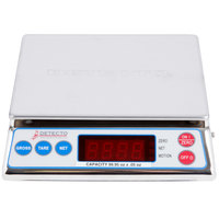 Cardinal Detecto AP-6 6 lb. Digital All-Purpose Portion Control Scale, Legal for Trade