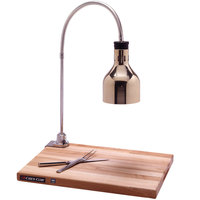 Cres Cor IFW-61-GL-10PN Portable Carving Station with Maple Wood Cutting Board