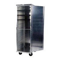 Winholt EC1824-C 24 Pan End Load Enclosed Bun / Sheet Pan Rack - Assembled