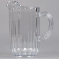 Rubbermaid 3337 54 oz. Plastic Bouncer Pitcher (FG333700CLR)