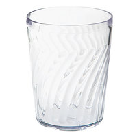 GET 2211-1-CL Tahiti 12 oz. Clear SAN Customizable Plastic Tumbler - 72/Case