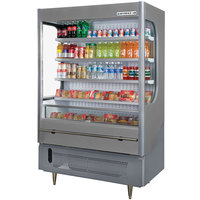 Beverage-Air VM18-1-G VueMax 51 inch Gray Air Curtain Merchandiser