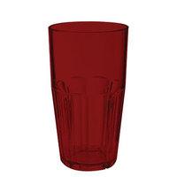 GET 9922-1-R Bahama 22 oz. Red Break-Resistant Plastic Tumbler - 72/Case