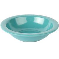 Carlisle 4386463 Turquoise Dayton 10 oz. Rimmed Bowl - 48/Case