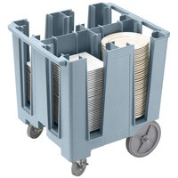 Cambro DCS1125401 Slate Blue Versa Dish Caddy - 4 Column