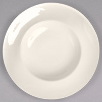 Homer Laughlin by Steelite International HL18900 Unique 24 oz. Ivory (American White) China Mediterranean Pasta Bowl - 12/Case