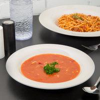 Carlisle 3303442 Sierrus 9 1/4 inch Bone Melamine Pasta / Soup / Salad Bowl - 24/Case