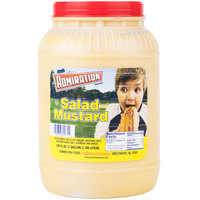 Admiration Yellow Mustard 1 Gallon Containers - 4/Case