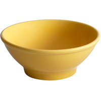 Tuxton BSB-2508 DuraTux 25 oz. Saffron China Menudo / Salad Bowl - 12/Case