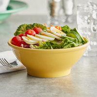 Tuxton BSB-2508 25 oz. Saffron China Menudo / Salad Bowl - 12/Case