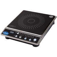 Globe IR1800 Ceramic Countertop Induction Range with Digital Timer - 1800W