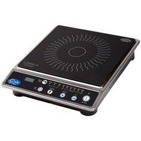 Globe IR1800 Ceramic Countertop Induction Range with Digital Timer - 1800W
