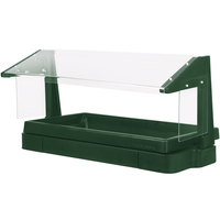 Cambro BBR480519 48 inch x 24 inch x 25 inch Green Buffet / Salad Bar with Sneeze Guard