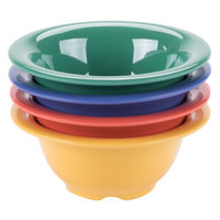 GET B-105-MIX -Diamond Mardi Gras 10 oz. Melamine Bowl, Assorted Colors - 48/Case