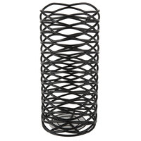 Sterno Products 85244 2 3/4 inch x 6 inch Black Wire Diamond Metal Lamp Base