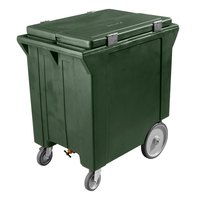 Carlisle IC222008 Forest Green Cateraide 200 lb. Mobile Ice Caddy