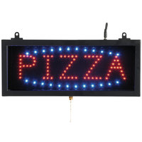 Aarco PIZ01S Pizza LED Sign