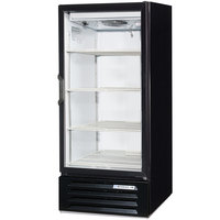 Beverage-Air LV10HC-1-B LumaVue 24 inch Black Refrigerated Glass Door Merchandiser with LED Lighting