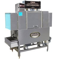 CMA Dishmachines EST-44 High Temperature Conveyor Dishwasher - Left to Right, 208V, 3 Phase