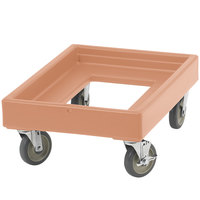 Cambro CD100157 Coffee Beige Camdolly for Cambro Camcarriers and Camtainers