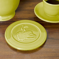 Homer Laughlin 443332 Fiesta Lemongrass 6 inch Trivet - 6/Case