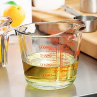 Anchor Hocking 55178AHG17 32 oz. (1 Quart) Glass Measuring Cup
