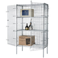 Wire Security Cage - 60 inch x 18 inch x 63 inch