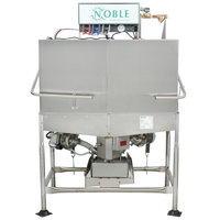 Noble Warewashing II Double Rack Low Temperature Corner Dishwasher - Left Side, 115V