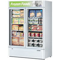 Turbo Air TGF-47SD White 51 inch Super Deluxe Glass Door Merchandising Freezer