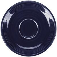 Fiesta Tableware from Steelite International HL470105 Cobalt Blue 5 7/8 inch China Saucer - 12/Case