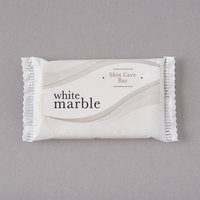 Dial DW00115A White Marble Tone Skin Care Soap 0.388 oz. - 1000/Case
