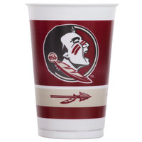 Creative Converting 019833 20 oz. Florida State University Plastic Cup - 96/Case