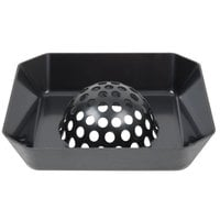 FMP 102-1143 Plastic Dome Floor Sink Strainer - 8 inch x 8 inch