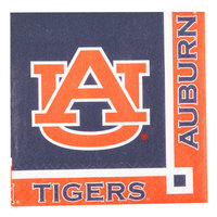 Creative Converting 654830 Auburn University 2-Ply Beverage Napkin - 240/Case