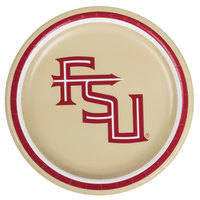 Creative Converting 419833 7 inch Florida State University Paper Plate - 96/Case
