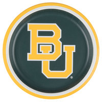 Creative Converting 424352 9 inch Baylor University Paper Plate - 96/Case