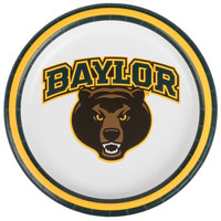 Creative Converting 414352 7 inch Baylor University Paper Plate - 96/Case