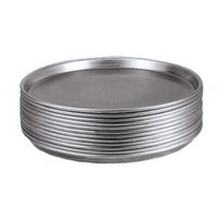 American Metalcraft T2010 10 inch Pizza Pan - Tin Plated Steel