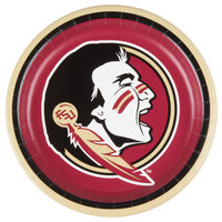 Creative Converting 429833 9 inch Florida State University Paper Plate - 96/Case