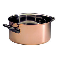 Matfer Bourgeat 367024 9 1/2 inch Copper Casserole Dish