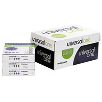 Universal Office UNV95200 8 1/2 inch x 11 inch White Case of 20# Multipurpose Paper - 10/Case