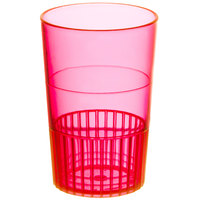 Fineline Quenchers 4115-RD 1.5 oz. Neon Red Hard Plastic Shooter Glass - 500/Case