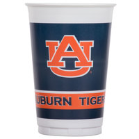 Creative Converting 014830 20 oz. Auburn University Plastic Cup - 96/Case