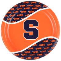 Creative Converting 318302 9 inch Syracuse University Paper Plate - 96/Case
