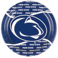 Creative Converting 424729 9 inch Penn State University Paper Plate - 96/Case