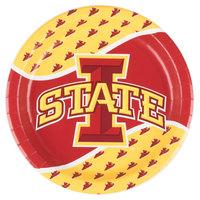 Creative Converting 424701 9 inch Iowa State University Paper Plate - 96/Case